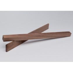 Holzleiste - Nussbaum nach Mass