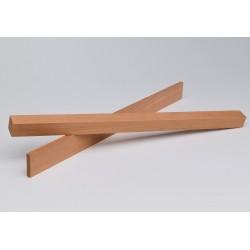 Holzleiste - Khaya Mahagoni nach Mass