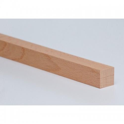 Holzleiste - Buche gehobelt - 25/25/1020 mm